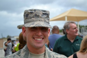 Airman Hunter Foust-- After completing boot carmp!