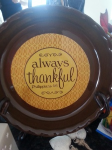 Sometimes...it's not that easy to remind yourself no matter what-B thankful!