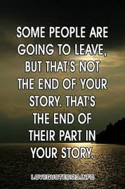 Your story continues... without them!